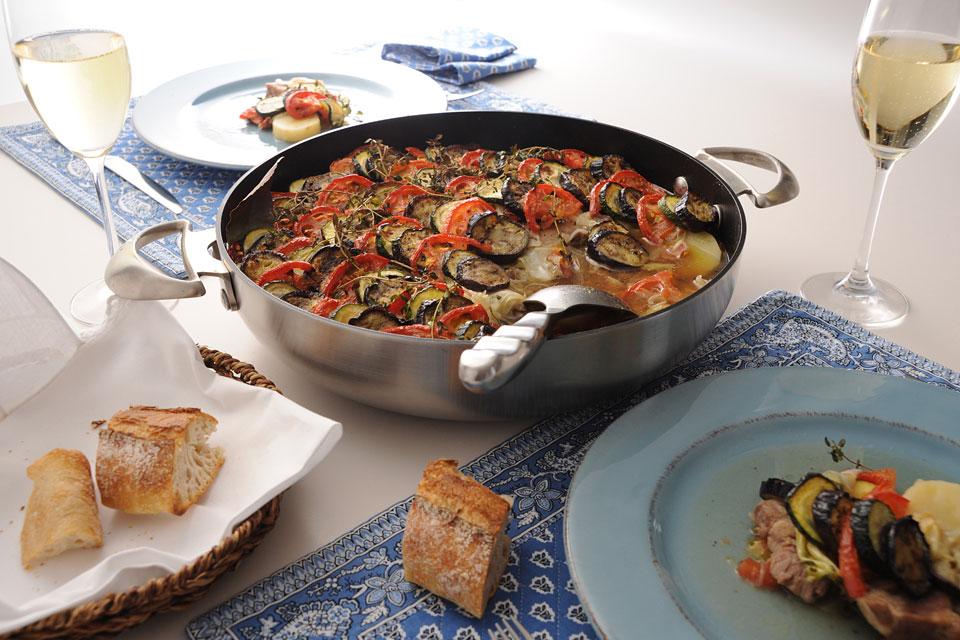 豚肉と夏野菜のブレゼ