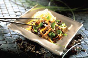 牛肉と野菜のスターフライ